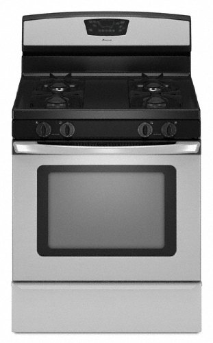 Amana-50-cu-ft-Self-Cleaning-Gas-Range-AGR5844VDS-Stainless-Steel