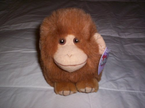 "Puffkins Monkey ""Amber"" Plush"