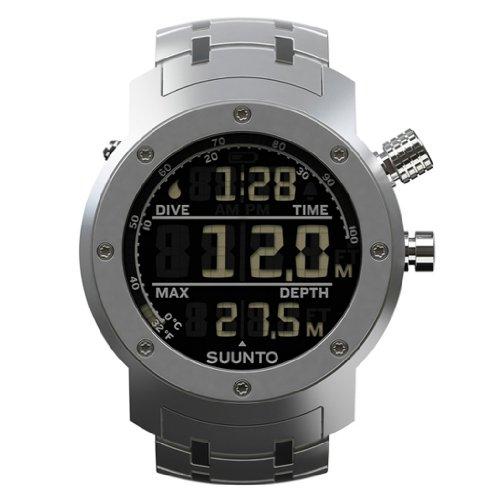 Suunto - SS014527000 - Montre Homme - Quartz - Digitale - Bracelet Acier inoxydable gris