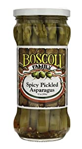 Spicy Pickled Asparagus by Boscoli Foods