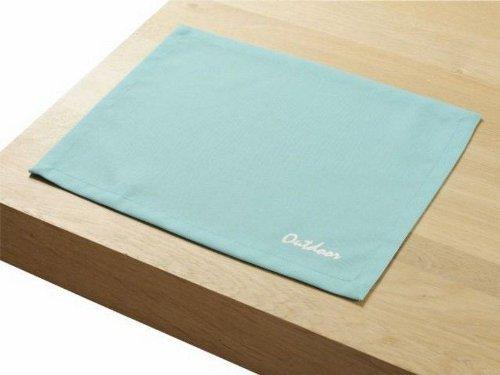 "4 Stück Outdoor TISCHSET ""St.Tropez aqua"" Placemat Gartentisch Tisch- Platzset abwaschbar 30cmx40cm jetzt bestellen"