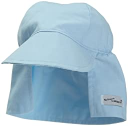 Flap Happy Flap Hat, Pastel Blue Xx Large