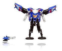 Convertible Motorcycle Robot Cyclon (Blue)