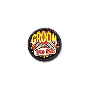 Groom to be Flashing Button - Bachelor Party Supplies