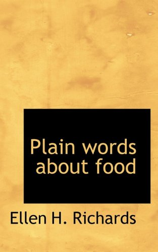 Plain words about food