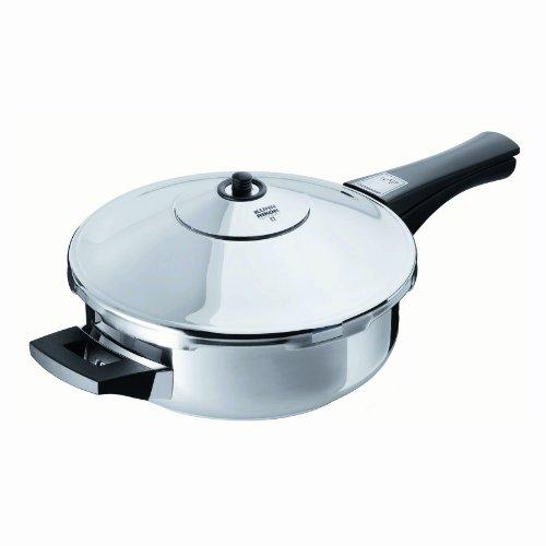 Kuhn Rikon Duromatic Inox Pressure Frying Pan (24cm), 2.5 Litre