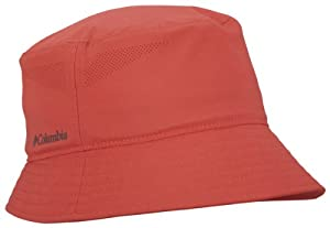 Columbia W Silver Ridge Bucket II Sun Hats, Burnt Henna, Small/Medium