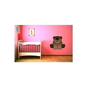 Teddy Bear Wall Decal Sticker Graphic By LKS Trading Post