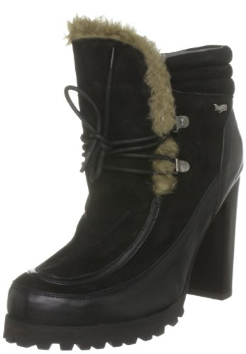 Gas Footwear Women's Dover Black Ankle Boots W20000127 3 Uk