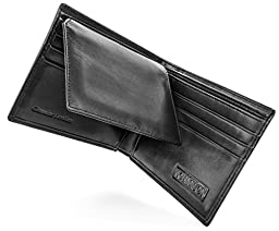 Normson Genuine Leather Wallet -RFID Blocking Stops Credit Card and Identity Theft