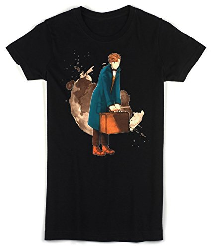 Fantastic Beasts and Where to Find Them Movie Artwork Women's T-shirt Extra Large