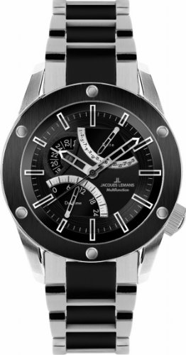 Jacques Lemans Men's 1-1634F Liverpool GMT Sport Analog GMT Watch