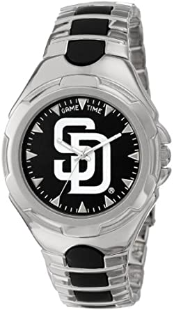 MLB Mens MLB-VIC-SD Victory Series San Diego Padres Watch by Game Time