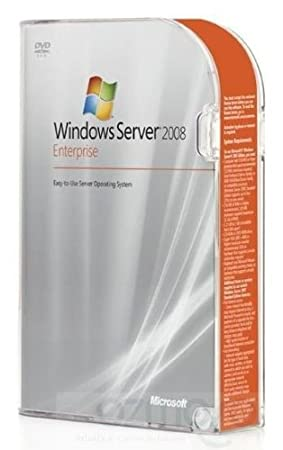 New Microsoft Windows Server 2008 Enterprise 32/64 Bit