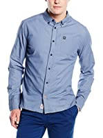 Pepe Jeans London Camisa Hombre Thomas (Azul Oscuro)