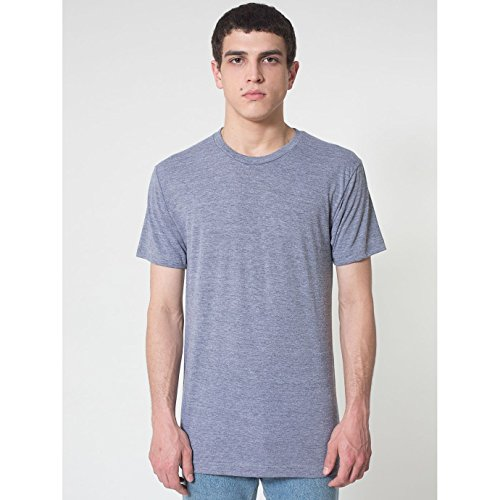 american-apparel-t-shirt-a-manches-courtes-homme-m-gris