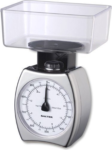 Salter 051 Chrome Mechanical Kitchen Scale by Salter