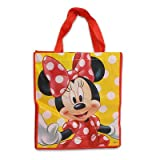 6pc Disney Large Minnie Non-woven Red/yellow Tote Bag