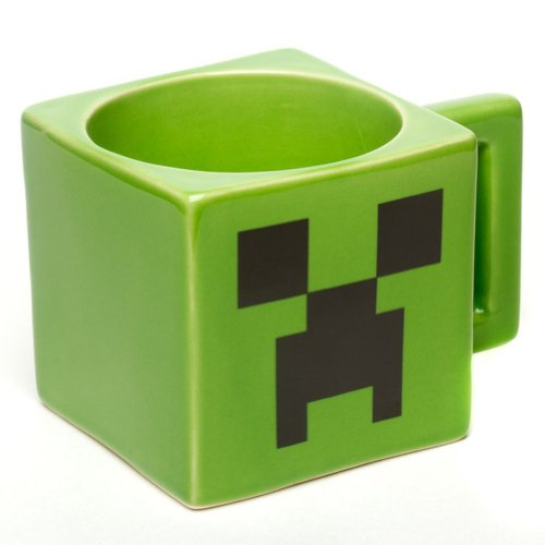 Minecraft-Ceramic-Creeper-Face-Mug
