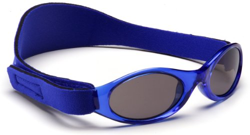 Adventure Banz Baby Sunglasses, Pacific Blue, 0-2 Years