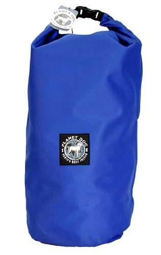 Planet Dog Weekender Travel Feedbag Blue Dog Food Storage