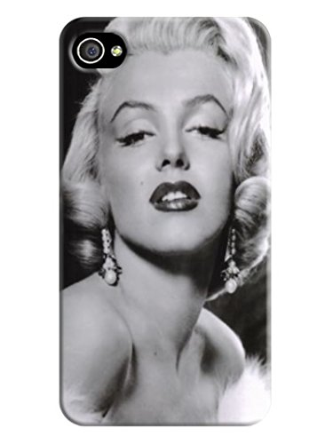 Fashion E-Mall Coolest TPU Logo Case Top Iphone 4S Stars Marilyn Monroe Designer Cover
