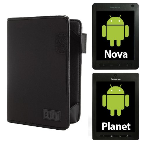 USA Mat Protective Tablet Folio Carrying Case for Pandigital PLANET R70A200 and NOVA R70F400 Android Tablets
