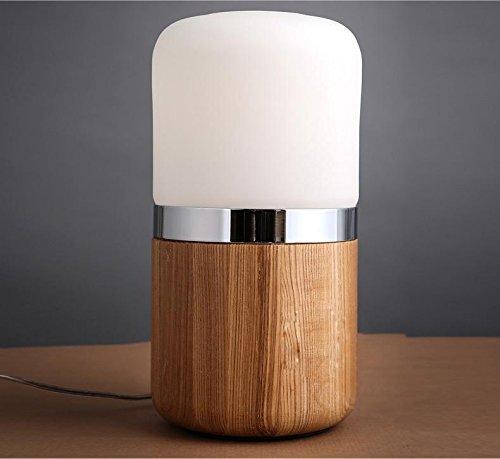 WL&F Nuovo in massello di legno di personalità creativa Vecchia Lampada nostalgia retrò Desk Lamp , ash - Ash Tonalità Legno