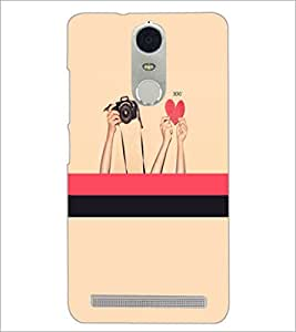 PrintDhaba Love D-3497 Back Case Cover for LENOVO K5 NOTE (Multi-Coloured)