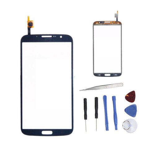 Iwoo Replacement Front Touch Screen Glass Digitizer Panel For Samsung Galaxy Mega 6.3 I9200 Black