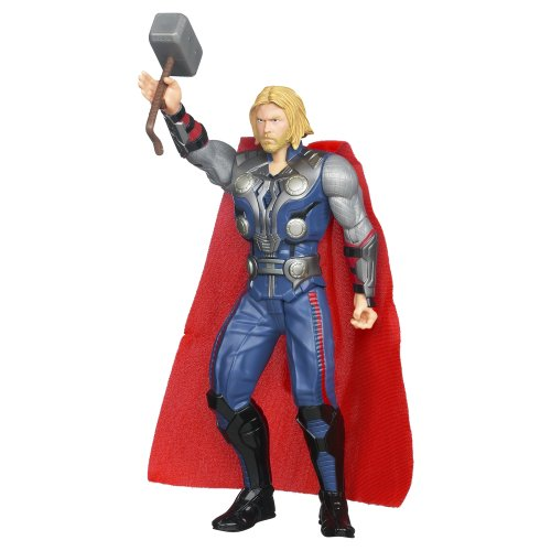 Marvel The Avengers Mighty Strike Thor Action Figure 10 Inches - 1