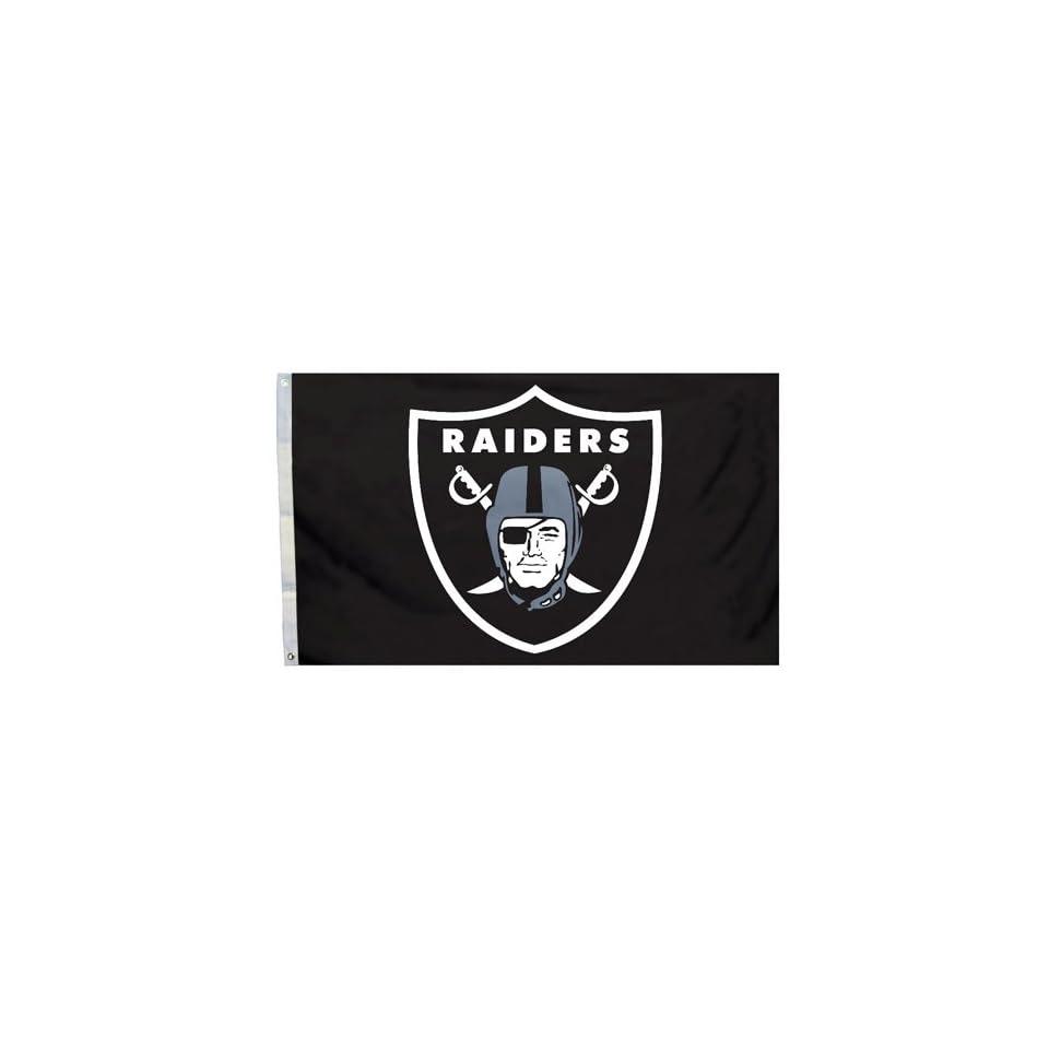 BSS   Oakland Raiders NFL 3x5 Banner Flag