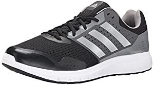 adidas Performance Men's Duramo 7 M Running Shoe,Black/Silver/Grey,8 M US