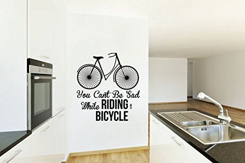 vintage-bicicleta-usted-no-puede-estar-triste-mientras-que-andar-en-bicicleta-vinilo-negro-mate-de-p