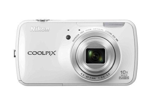 Nikon COOLPIX S800c 16 MP Digital Camera  10x