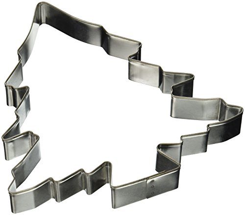 R & M International 5880 8-Inch Christmas Tree Cookie Cutter, X-Large
