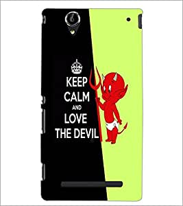 PrintDhaba Cartoon D-2994 Back Case Cover for SONY XPERIA T2 ULTRA (Multi-Coloured)