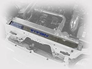 Titan Motorsports Polished Radiator Show Plate Supra by Titan Motorsports