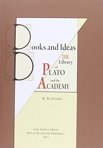 Books and Ideas: The Library of Plato and the Academy