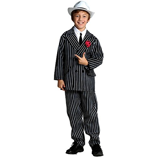 Gangster Suit Kids Costume