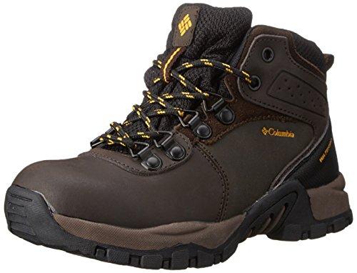 Columbia YOUTH NEWTON RIDGE WATERPROOF, Scarponi da trekking ed escursionismo Unisex - bambino, Marrone (Braun (Cordovan 231)), 37