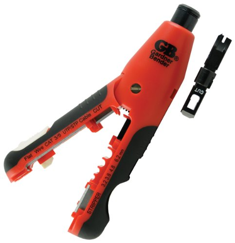 Gardner Bender SPD-10L 7-Inch Wire Stripper and Punchdown Tool