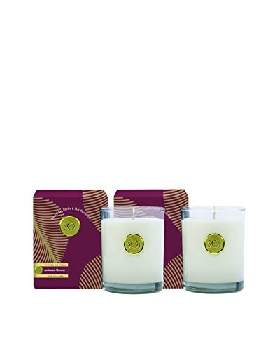 The Soi Co. Set of 2 Luxe Box Moisturizing 13.5-Oz. Candles, Autumn Breeze