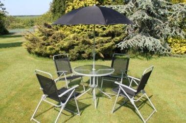 4 Seater Bermuda Garden Dining Set-