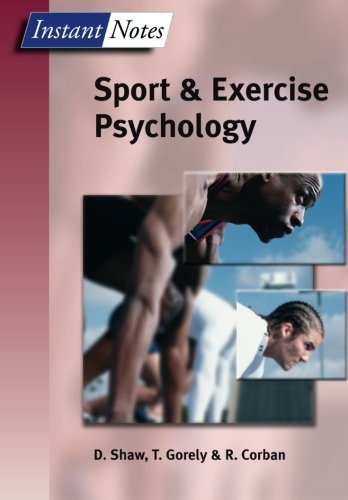 BIOS Instant Notes in Sport and Exercise Psychology (Volume 3) [Shaw, Dave - Gorely, Trish - Corban, Rod] (Tapa Blanda)
