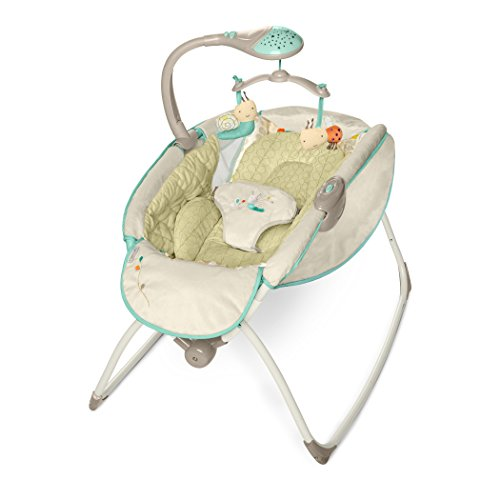 Best Deals! Ingenuity Moonlight Rocking Sleeper Deluxe- Seneca