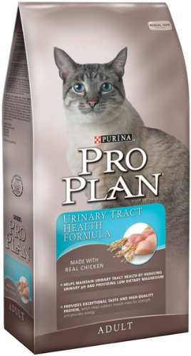 See Purina Pro Plan Dry Adult Cat Food, Urinary Tract Health Formula, 7-Pound Bag