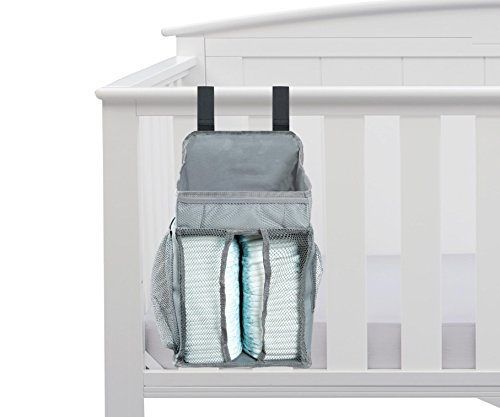 Baby Nursery Organizer – Diaper Organizer – Large Pockets – Space For Diapers & Wipes, Creams & Lotions