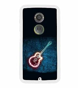Shining Guitar 2D Hard Polycarbonate Designer Back Case Cover for Motorola Moto X2 :: Motorola Moto X (2nd Gen) :: Motorola Moto X 2014 :: Motorola Moto X+1