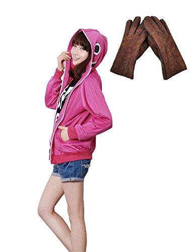 F&C Vocaloid Gakupo Russian Matryoshka Jacket Hoodie Coat Cosplay Costune 1 (Medium, Pink) (Sexy Costunes)